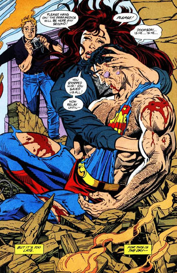 Death of superman 3