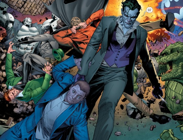 "Batman #27 Review: ""The War of Jokes and Riddles""Interlude"