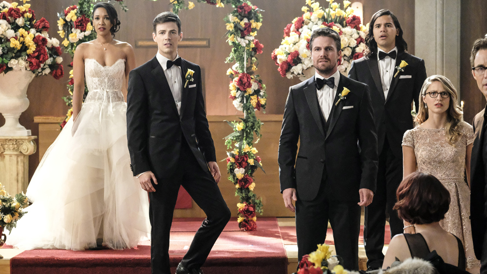 arrowverse wedding