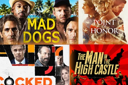 Amazon pilot shows Mad Dogs, Point of Honor, Cocked and The Man
