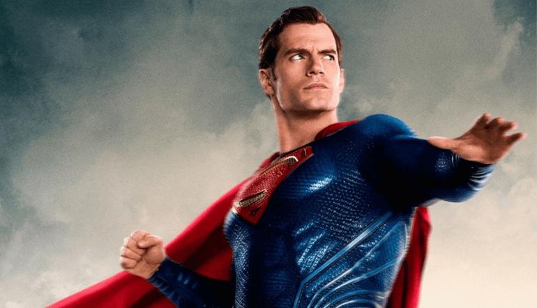 Henry cavill as Superman in JL