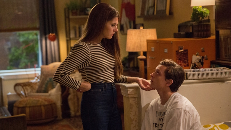 Aunt May and Peter Parker