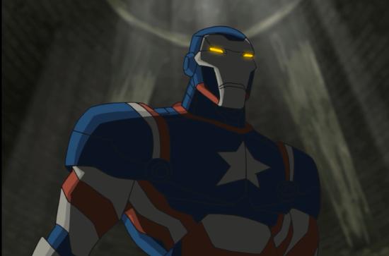 Iron Patriot as Harry Osborn
