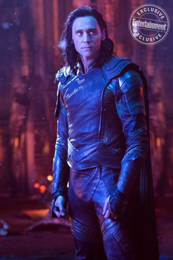 MARVEL'S AVENGERS: INFINITY WAR Tom Hiddleston as Loki