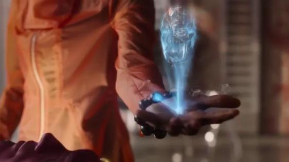 Shuri Vision hologram