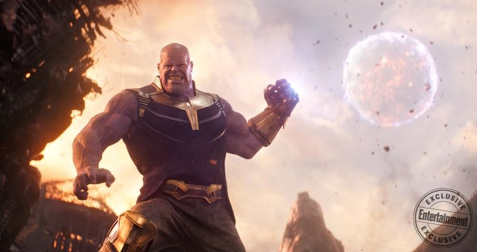 Thanos' planet