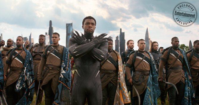 MARVEL'S AVENGERS: INFINITY WAR Chadwick Boseman as T'Chaka/Black Panther