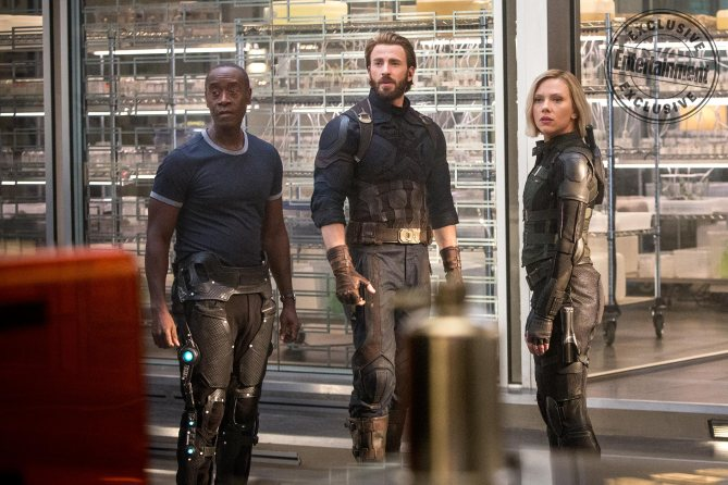 War Machine, Captain America, Black Widow