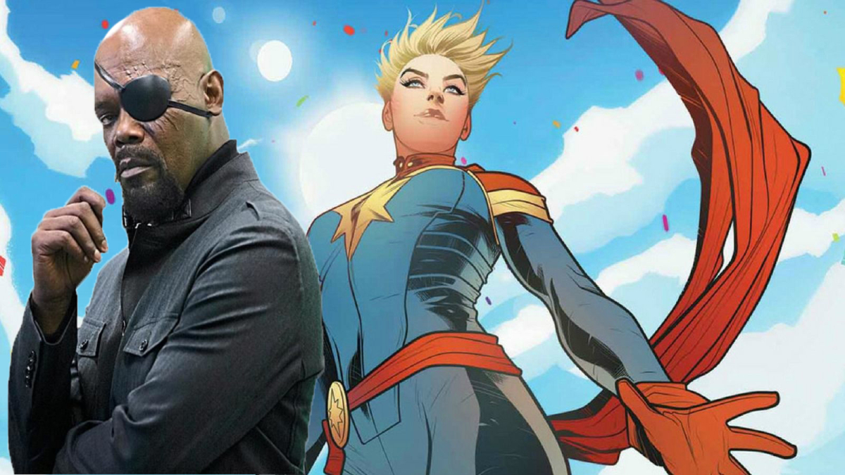 Leaked Captain Marvel Set Photos And Video Reveal First Look At 90s Nick Fury Superbromovies
