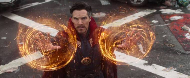 Doctor Stephen Strange in Infinity War