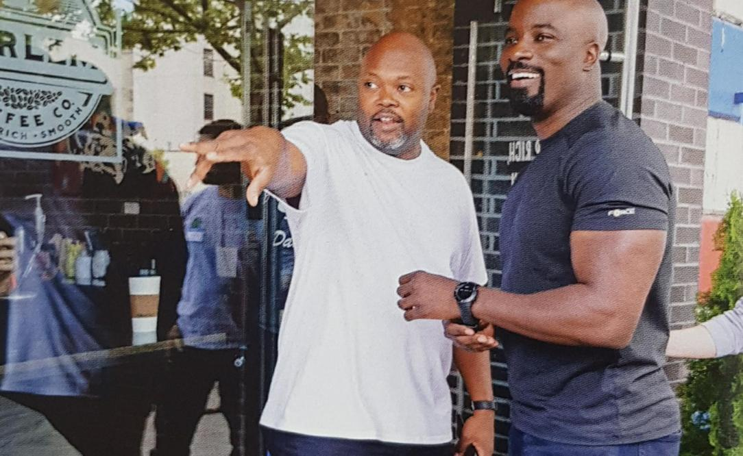 Luke Cage with director