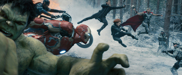 Team up shot in Age of Ultron