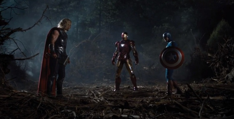 Thor, Iron Man, Captain America in Avengers.jpg