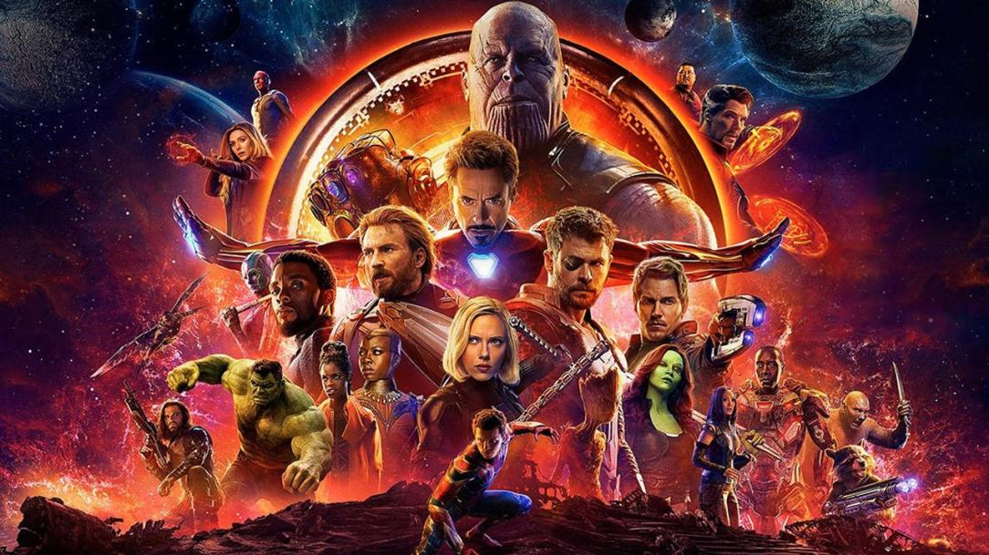 avengers-infinity war poster thumbnail size