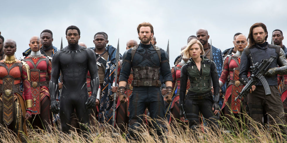 Black Panther, Steve Rogers, Black Widow and White Wolf