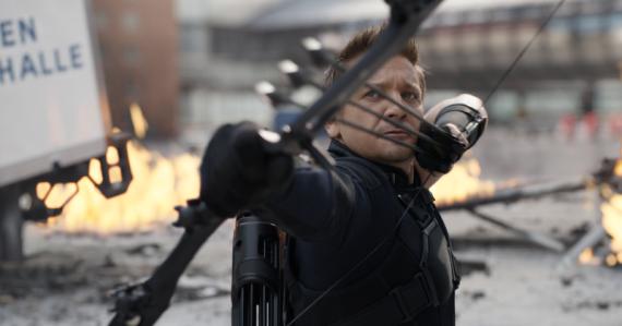 Hawkeye in CW
