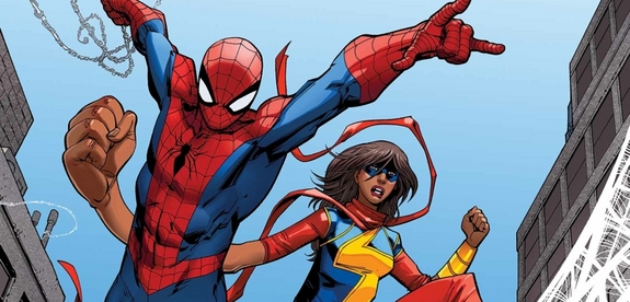 Spider-Man and Ms. Marvel