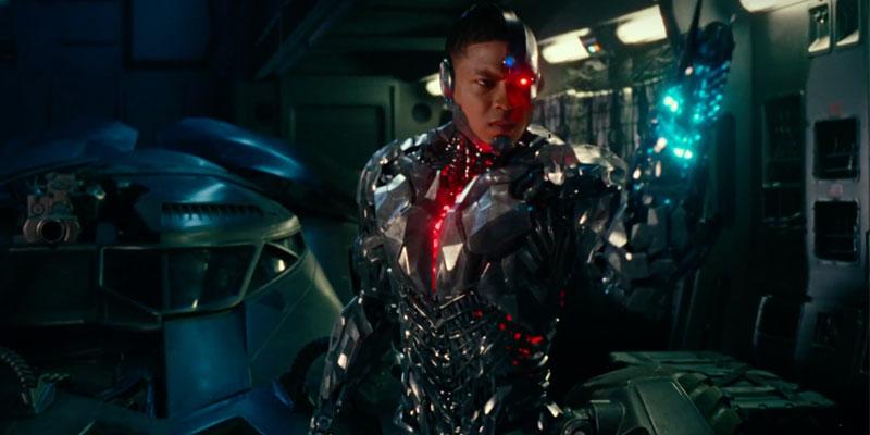 Ray Fisher's Cyborg
