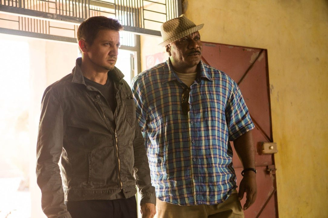 Renner and Rhames in Rogue Nation