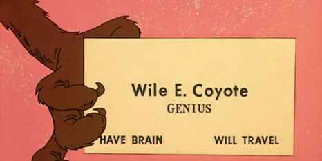 wile-e-coyote-genius-business-card-feature-image