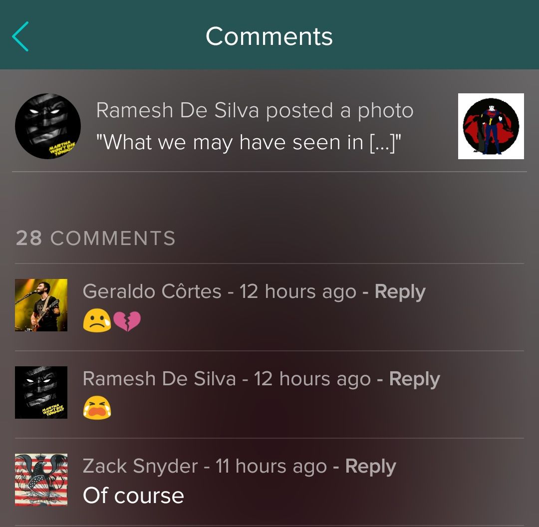 Zack Snyder killing batman Vero