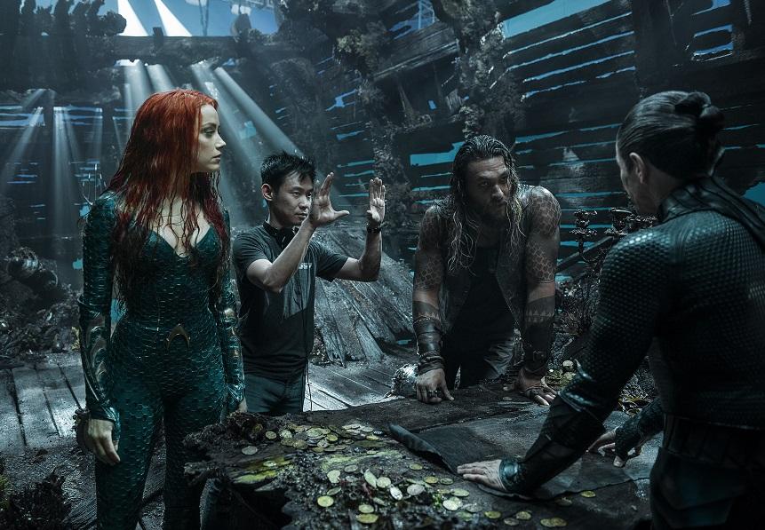 James Wan, Amber Heard, Jason Momoa Aquaman.jpg