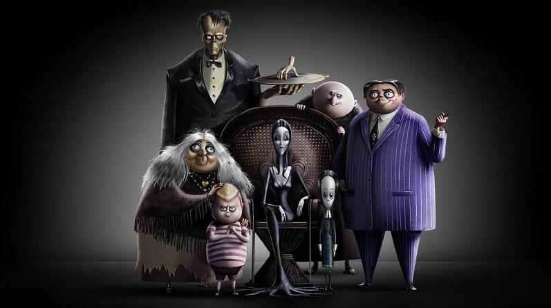 Resultado de imagem para addams family movie 2019