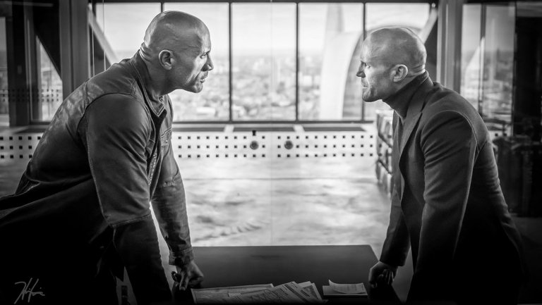 Hobbs and Shaw BTS