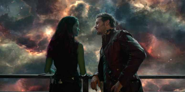 Star lord and gamora in guardians.jpeg